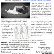 Thai Yoga Therapy Workshop